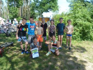 Dětský triatlon na Stříbrném rybníku