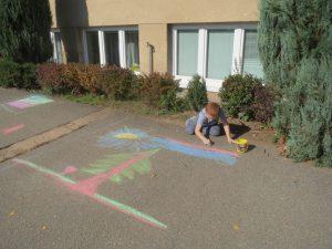 Chodníkové malování