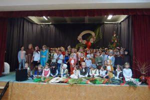 Vánoční besídka v naší škole