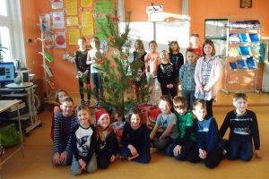 Vánoční besídka v naší třídě