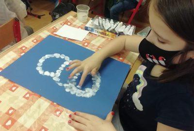 Zima ve výtvarné výchově